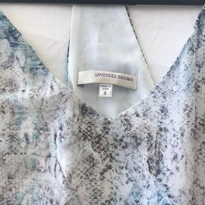 Dresses - Lavender Brown Dress size Small